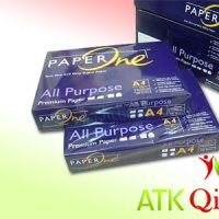 KERTAS A4 80GR PAPER ONE