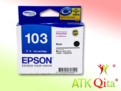 TINTA Printer EPSON T103 BLACK