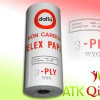Kertas Telex Daito, 3 ply, Daito