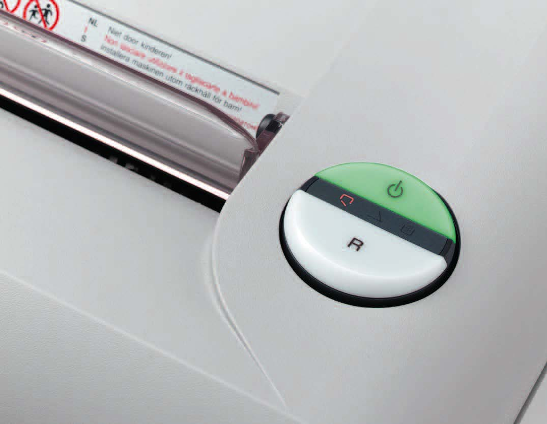 Mesin Penghancur Kertas Paper Shredder IDEAL 2360 Easy Switch