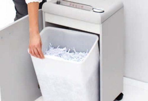 Mesin Penghancur Kertas Paper Shredder IDEAL 2360 Practical Shred Bin