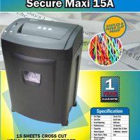 Mesin Penghancur Kertas Paper Shredder SECURE Maxi 15A