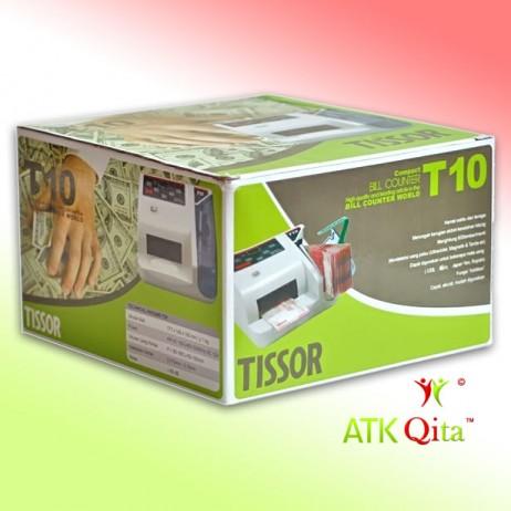 Mesin Penghitung Uang dan Pendeteksi Uang Palsu TISSOR T10 Dus