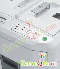Control Panel with LED's Penghancur Kertas Autofeed IDEAL SHREDCAT 8280