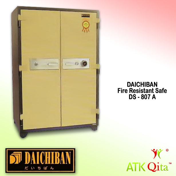 Brankas DAICHIBAN DS-807A Tahan Api dengan Alarm