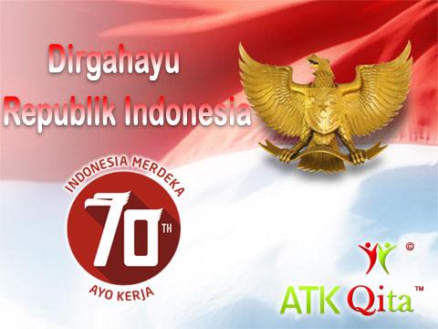 Dirgahayu Republik Indonesia yang ke 70