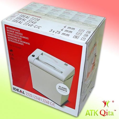Mesin Penghancur Kertas Paper Shredder IDEAL 2240 SC Dus