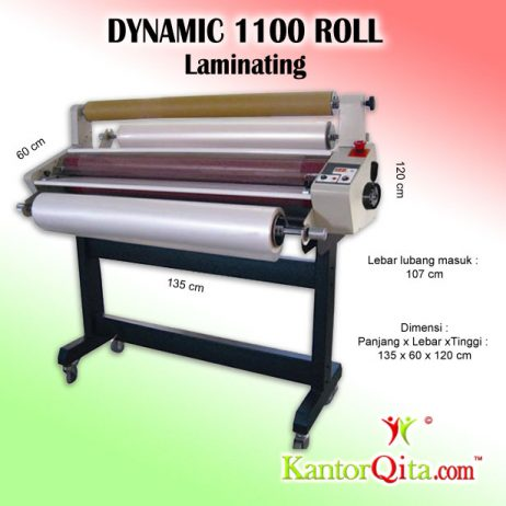 Mesin Laminating DYNAMIC 1100 Roll