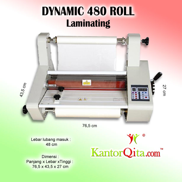 Mesin Laminating DYNAMIC 480 Roll
