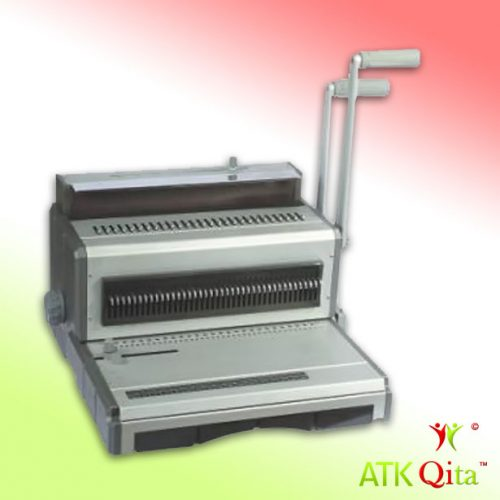 Mesin Jilid / Binding GEMET 200F untuk jilid kawat 2:1 dan 3:1 ukuran Folio F4 lubang kotak-AtkQita.com