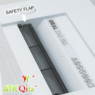 Mesin Penghancur Kertas Paper Shredder IDEAL 2245 Safety Flap