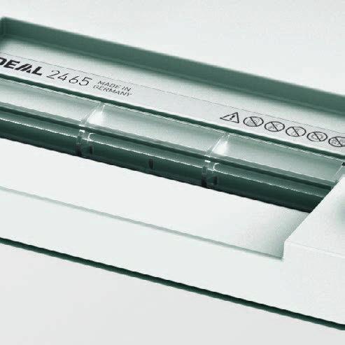 Mesin Penghancur Kertas Paper Shredder IDEAL 2465 Safety Flap - AtkQita