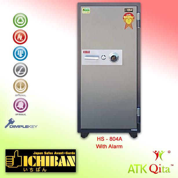 Brankas ICHIBAN HS-804A Dial Safe Tahan Api dan Maling