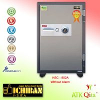 Brankas ICHIBAN HSC-802A Dial Safe Tahan Api