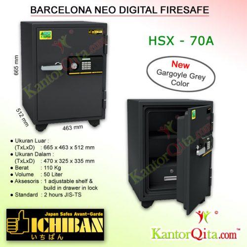 Brankas ICHIBAN HSX-50A Barcelona Neo Digital Firesafe