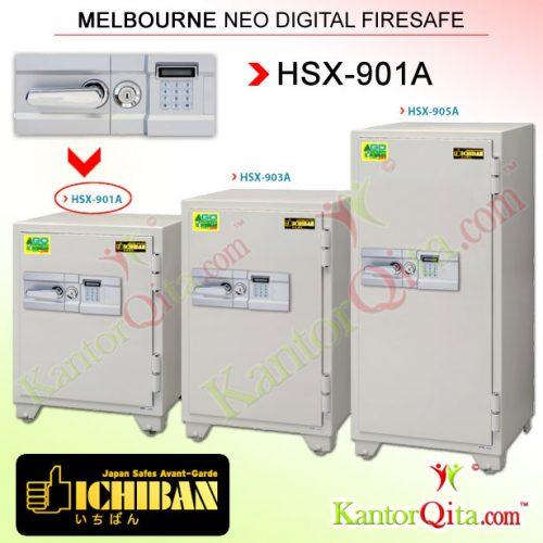 Brankas ICHIBAN HSX-901A Melbourne Neo Digital