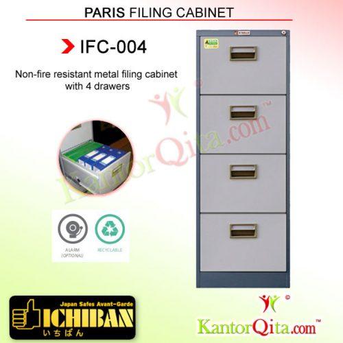 Filing Cabinet ICHIBAN IFC-004 Paris 4 Laci