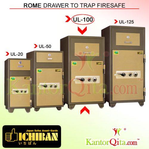Brankas ICHIBAN UL-100 Rome Drawer To Trap Firesafe