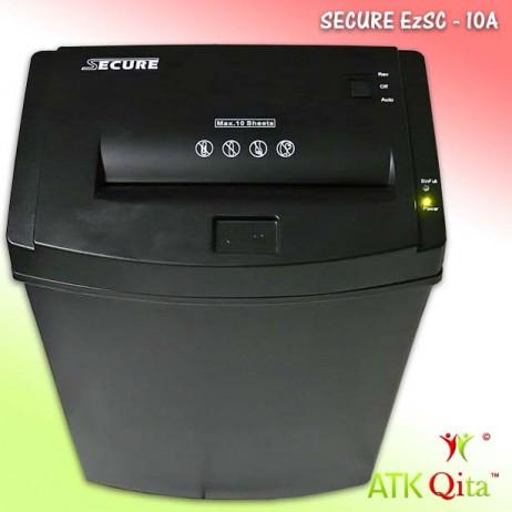 Mesin Penghancur Kertas Paper Shredder SECURE EzSC-10A Tampak Atas 1