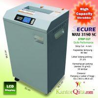 Mesin Penghancur Kertas Paper Shredder SECURE Maxi 3180 SC