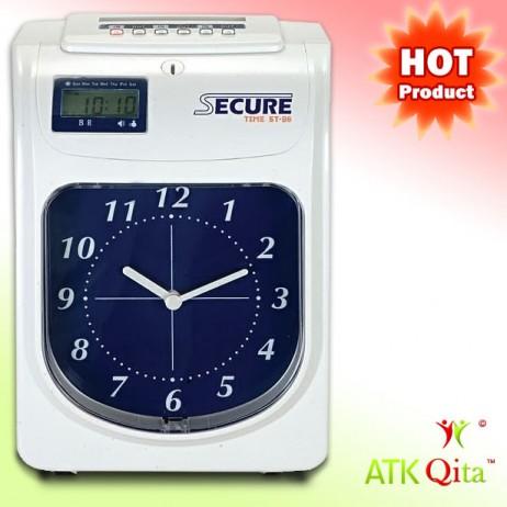 Mesin Absensi Kartu SECURE ST-86 - ATKQita.com