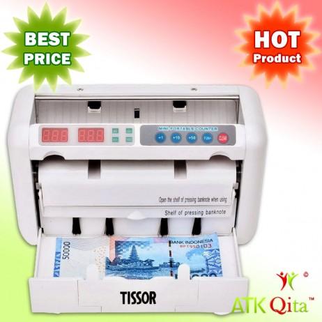 Mesin Penghitung Uang dan Pendeteksi Uang Palsu TISSOR T1030